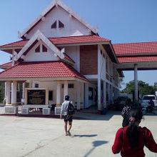 ベトナム国境の管理所