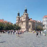旧市街地の中心的な広場です。
