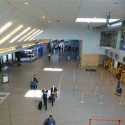 とても綺麗な空港