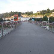 ザルツァッハ川 にかかる橋の一つです。