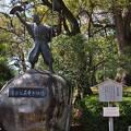 写真:名古屋城 清正公石曳き像