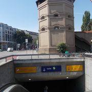 ミュンヘンの近郊の町とつながっています。