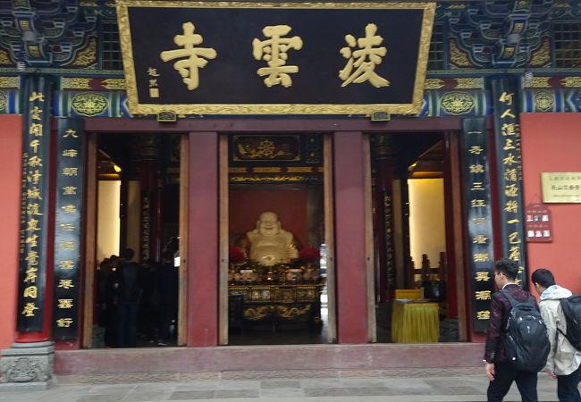 仏閣や塔が点在する仏教禅宗寺院