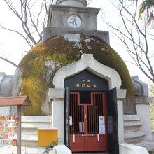 上野大仏に隣接するパゴダ