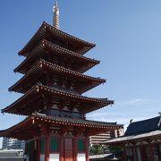 のぼれる五重塔