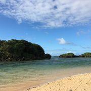 西表島で一番有名なビーチ