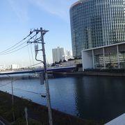 みなとみらいから横浜港へ流れる