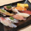 沼津魚がし鮨 流山おおたかの森店 で、軽めのディナー
