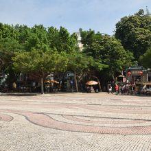 石畳が美しい広場
