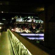 夜の鉾流橋
