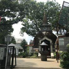上野公園にある仏塔です