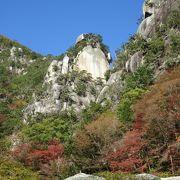 昇仙峡の代表的観光スポットです
