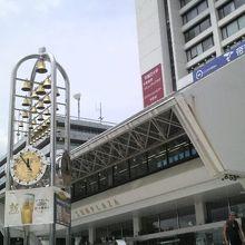 中野駅の北口近く、中野のシンボルといってもよい施設です