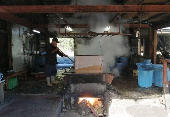水間黒糖製造工場