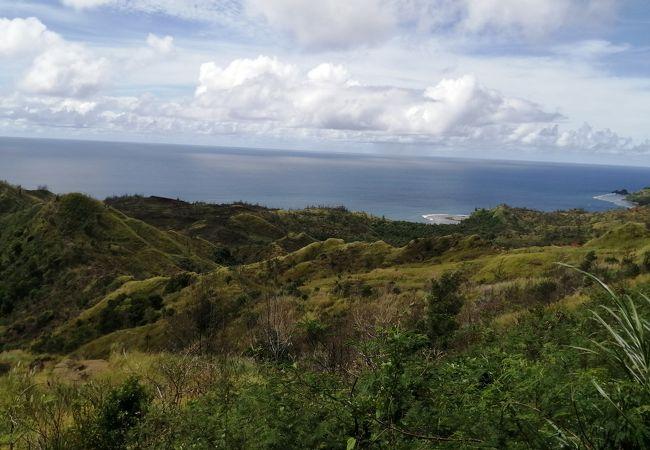 森と海と空のコントラスト
