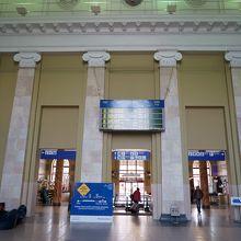 駅舎の内部