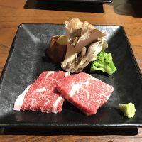 信州プレミアム牛と国産牛のステーキ食べ比べ