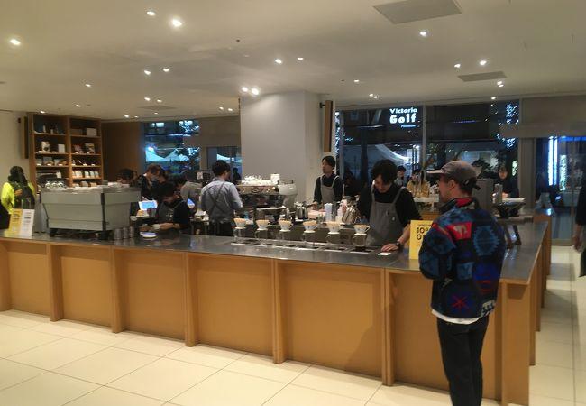 ブルーボトルコーヒー 新宿カフェ