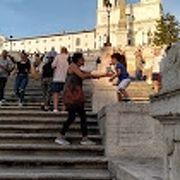 初ローマなので行ってみましたが・・・