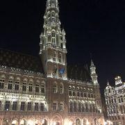 ブリュッセルのメイン観光地