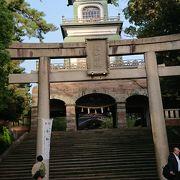 金沢、尾山神社 山門が中国風?