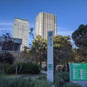 錦糸町駅から直ぐの公園