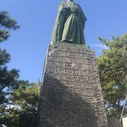 桂浜にある有名な銅像