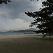 萩の美しい海岸