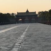 明、清時代の皇帝か祭祀を行った場所