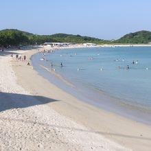 筒城浜海水浴場