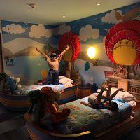 Family Suiteの子供部屋は凝った作りで子供も大喜び