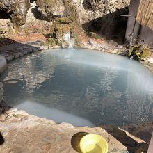白骨温泉公共野天風呂