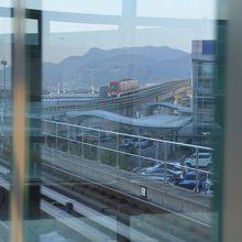 釜山市内へ行ける鉄道。一旦外に出なければならないのが玉に瑕