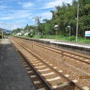 高知県に入る最適な列車です