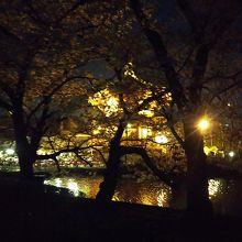 池と弁天堂