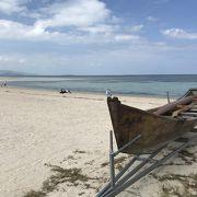 竹富島を代表するビーチ