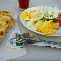 朝食も美味しい。