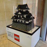彦根城の模型が展示されていました