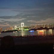 夜景の綺麗な東京ビーチ
