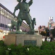 岡山を象徴する銅像
