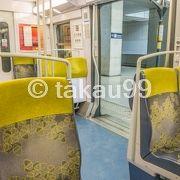 シャルルドゴール空港とパリ市内の移動にRER (高速郊外鉄道) B線を利用しました。