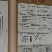 道の駅宮津に隣接した施設 1階にスーパー、5階にレストラン
