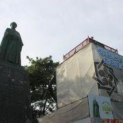 日本でもっとも巨大な銅像です