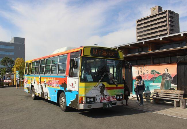 高知市内の観光地巡りに便利なバス