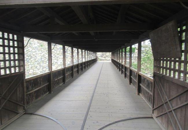 史跡高松城跡 鞘橋