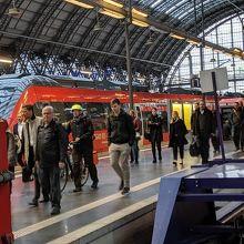 利便性の高いフランクフルト駅