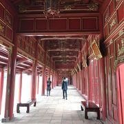 ベトナム最後の統一王朝の王宮