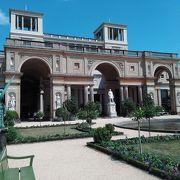 サンスーシ宮殿から程近い