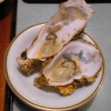夕食に牡蠣のカンカン蒸しが出ました
