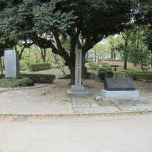 旧水戸邸跡碑
